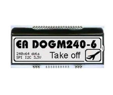 Electronic Assembly EA DOGM240W-6 EA DOG LCD Display