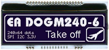 Electronic Assembly EA DOGM240S-6 EA DOG LCD Display