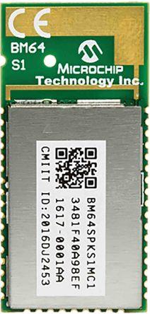 Microchip Technology BM64SPKS1MC1-00M2AA Bluetooth Module 5.0