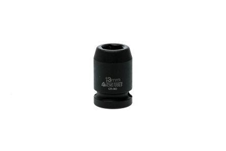 Teng Tools 13.0mm, 1/2 in Drive Impact Socket Hexagon, 25.0 mm length