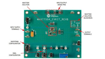 MAX77504 evaluation kit