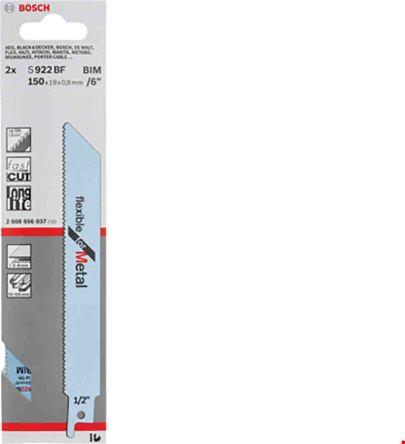 Bosch S922EF BIM Flexible for Metal Reciprocating Saw Blades Pack 5 2608656015