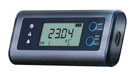 Lascar EL-SIE-1+ Temperature Data Logger, Battery Powered, LCD Display