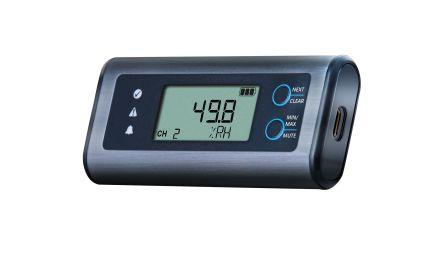 Lascar EL-SIE-2 Humidity, Temperature Data Logger, Battery Powered, LCD Display