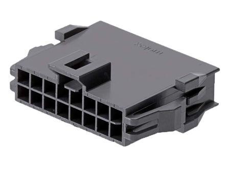 Molex, 201444 Female PCB Connector Housing, 2.5mm Pitch, 2 Row