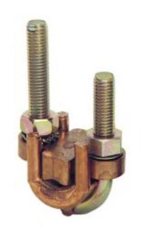Cable clamps for separated conductors 50