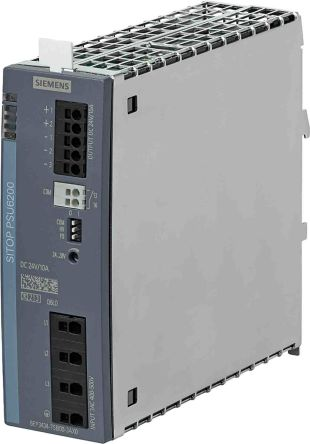 Siemens SITOP, DIN Rail Power Supply - 323to576V Input Voltage, 24V Output Voltage, 10A Output Current