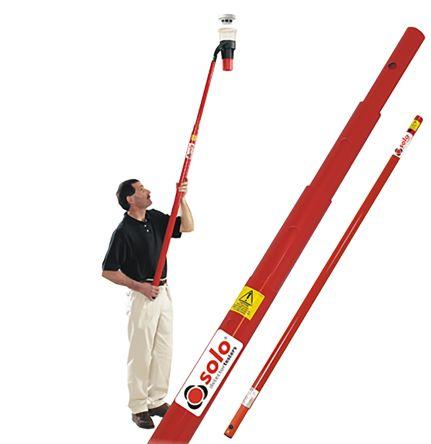Telescopic extension pole,4.5m L