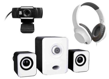 RS PRO Homeoffice -Set, 1080 x 720 mit integriertem Mikrofon