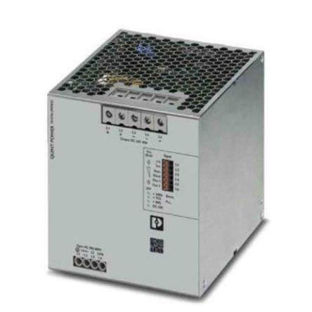 Phoenix Contact QUINT4-PS, DIN Rail Power Supply - 400 → 500V Input Voltage, 24V dc Output Voltage, 40A Output