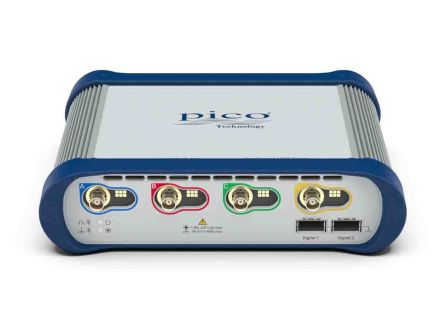 Osciloskop pro PC, řada: PicoScope 6000E PicoScope 6403E počítačový 4kanálový 500MHz USB Pico Technology 300000