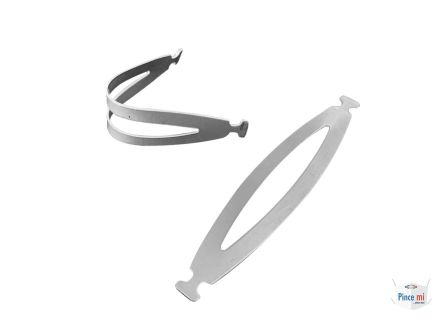 Pince Mi Fabric Face Mask Nose Clip 60mm x 12mm x 0.8mm