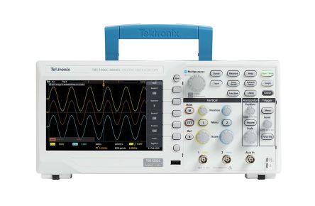 Digitální osciloskop, řada: TBS1000C TBS1202C Digitální úložiště 2kanálový 200MHz Tektronix