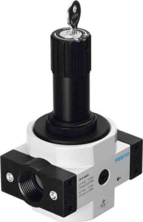 Festo G 1 Pneumatic Regulator 0.5bar to 12bar, LRS-1-D-O-MAXI