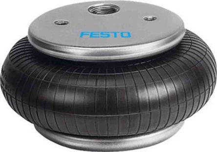 Festo G 1/2 Filter Regulator Lubricator, Manual Drain, 40μm Filtration Size