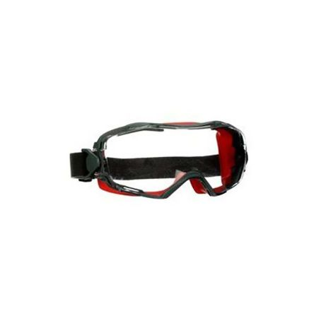 3M GoggleGear 6000 Safety Goggles, Red S