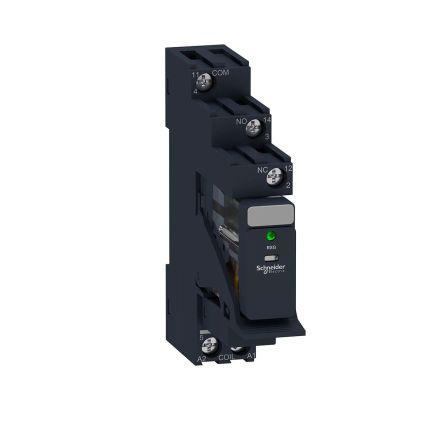 Schneider Electric RXG Series , 230V ac SPDT Interface Relay, DIN Rail