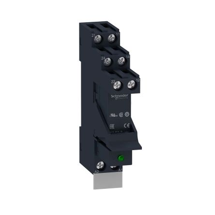 Schneider Electric RSB Series , 24V dc DPDT Interface Relay, DIN Rail