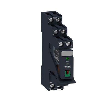 Schneider Electric RXG Series , 24V dc DPDT Interface Relay, DIN Rail