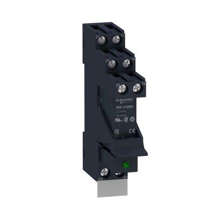 Schneider Electric RSB Series , 24V dc SPDT Interface Relay, DIN Rail