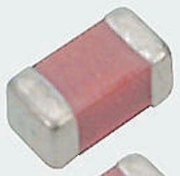 Vishay, 0603 (1608M) 1nF Multilayer Ceramic Capacitor MLCC 100V dc ±10% , SMD VJ0603Y102KXBAC