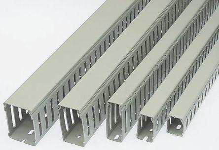 10440033 4x1m Betaduct Betaduct Metric Grey Pvc Narrow