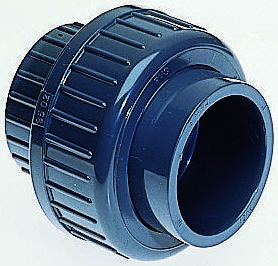 721510105 Straight Union PVC Pipe Fitting, product photo