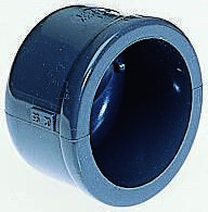 721960107 Cap PVC Pipe Fitting, 25mm dia. product photo