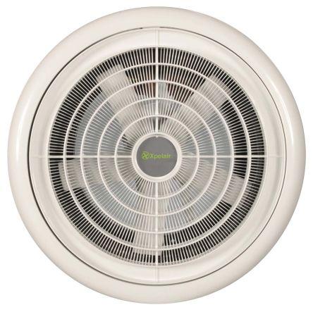 Ventilador de Techo, 329m³/h, 34W, 230 V ac