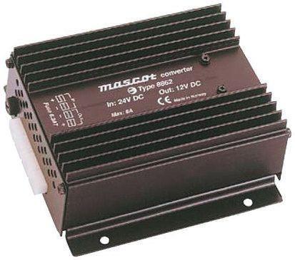 81W Fixed Installation Car Power Adapter, 18 → 32V dc / 13.2V dc