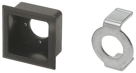 Push Button Bezel for use with Square Lens Switch
