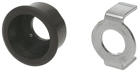 Push Button Bezel for use with Round Lens Switch
