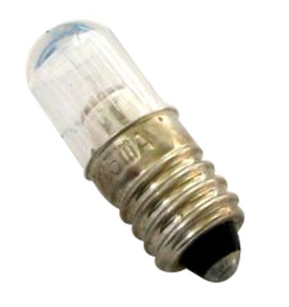 T10 Orange Filament Indicator Lamp, BA9s, 100120 V 600 μA