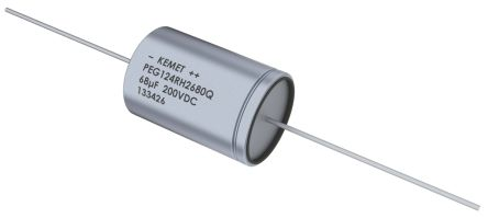 KEMET 10μF Electrolytic Capacitor 400V dc Through Hole - PEG124VE2100QL1