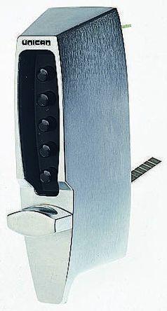Satin chrome standard digital door lock | Unican Simplex | RS Components  India