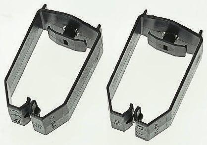 CL-60X40 | HellermannTyton Cable Clip Black Screw PVC Saddle Clamp ...