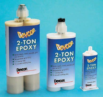 20242 ITW Devcon   ITW Devcon 2 Ton, 400 ml Transparent