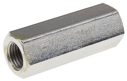 Parker Steel Hydraulic Check Valve 2303, G 1/2, 50L/min, 0.35bar Cracking Pressure