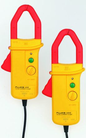 Fluke I1010 Multimeter Current Clamp Adapter, 1000A dc, 600A ac, 30mm With UKAS Calibration