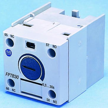 Bulletin 100-C Series Analogue (OFF Delay) Contactor Timer, Range 1.8 -> 180s, NO/NC Contacts product photo