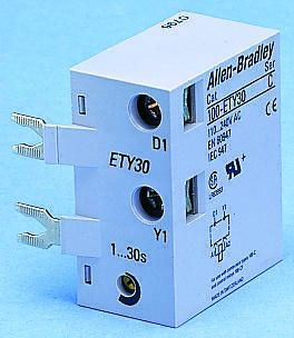 Bulletin 100-C Series Digital (ON Delay) Contactor Timer, Range 1 -> 30s, NO Contacts product photo