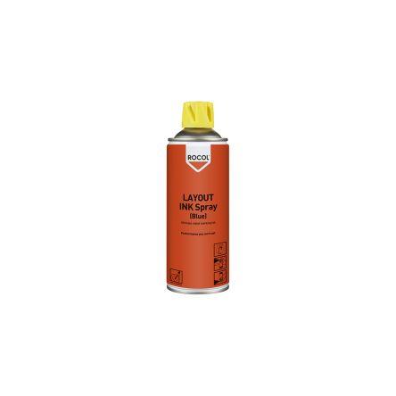 Rocol 57015 Marking & Layout Ink Spray, Aerosol, 400ml, Blue