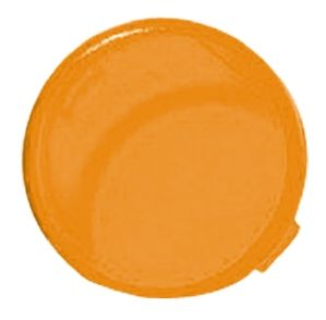 Panel Mount Indicator Lens Round Style, Amber, 16mm diameter