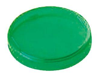 Panel Mount Indicator Lens Round Style, Green, 29mm diameter