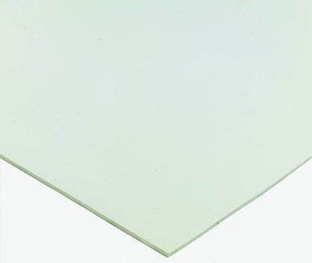White Silicone Rubber Sheet, 600mm x 600mm x 6mm