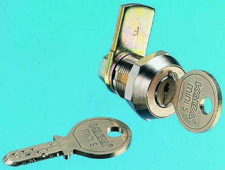 Kaba Panel to Tongue Depth 18mm Camlock, Key to unlock