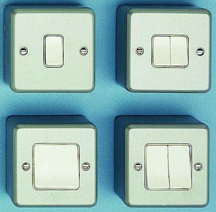 0 401 94 | 2 A Rocker Light Switch, 250 V ac | RS Components