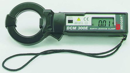 DCM300E Clamp Meter, Max Current 300A ac CAT II 600 V, CAT III 500 V product photo