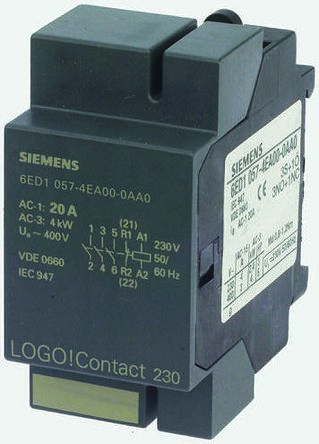Siemens 6ED1 Series Logic Module, 24 V dc Supply