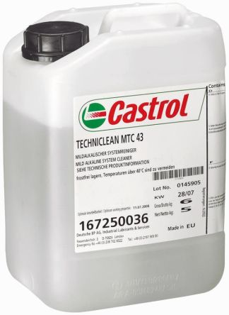 Castrol Machine Tool Cleaner 5 L Bottle